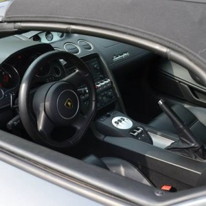 interrieur lamborghini gallardo