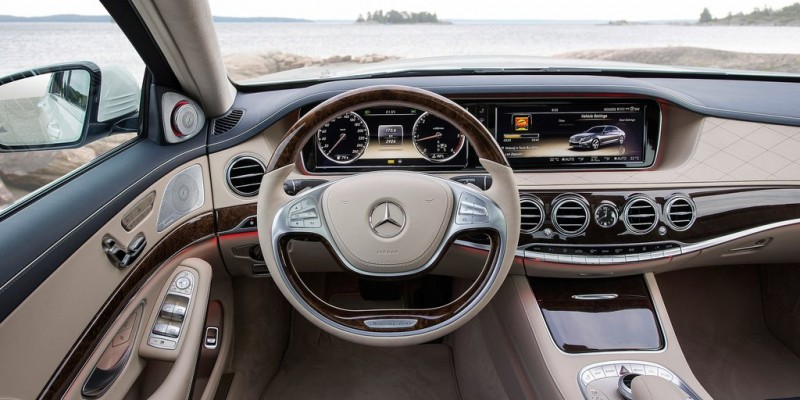 interrieur mercedes classe s 500 amg