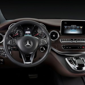 interrieur mercedes classe v luxe